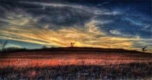 Colorful horizon image